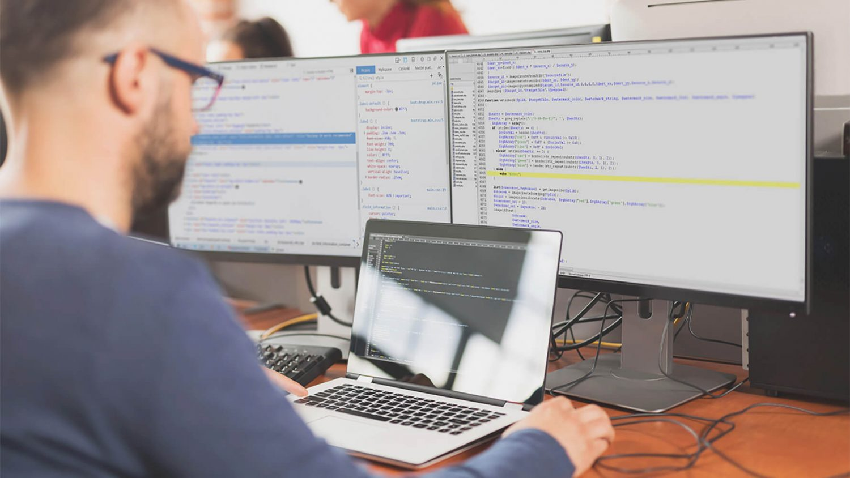 development on computer