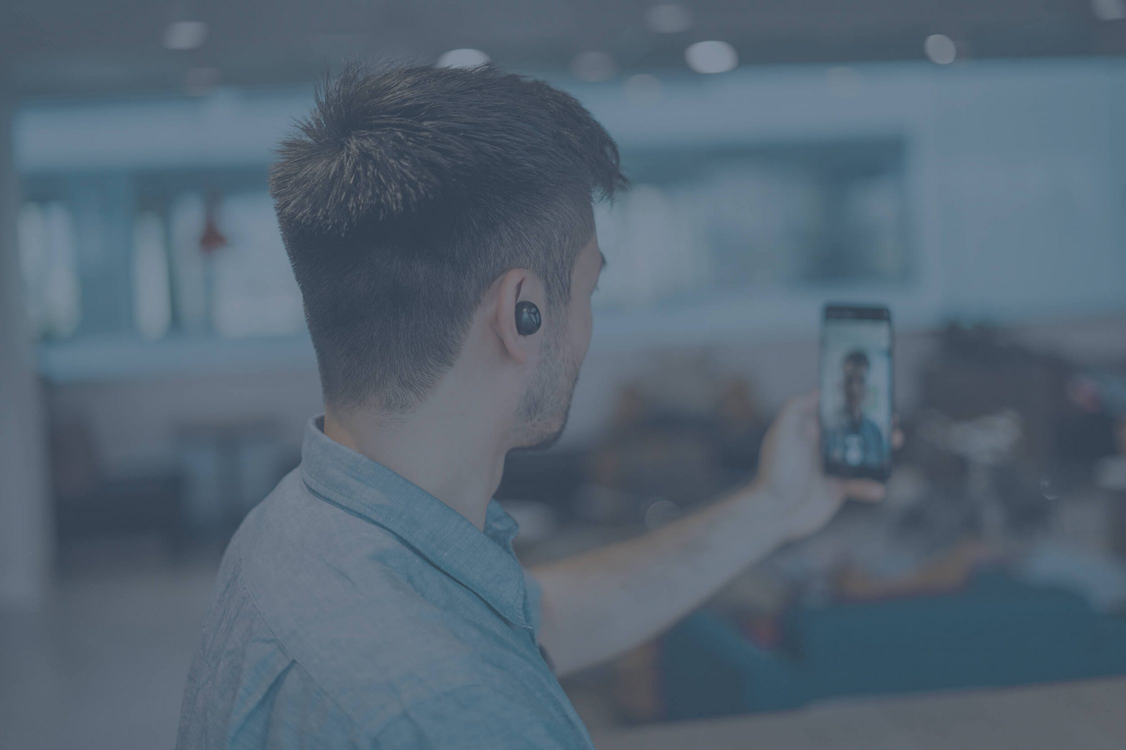 recruiter recording linkedin stories