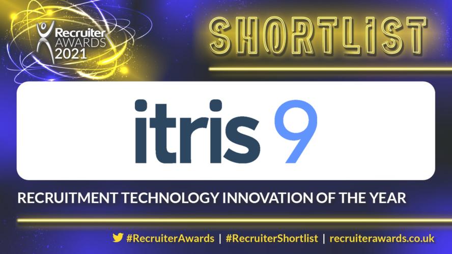 recruitment innovation shortlist recruiter awards